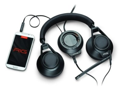 Plantronics RIG headset Black