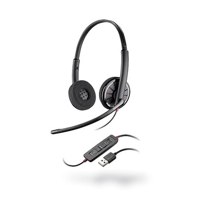 Plantronics BlackWire C320-UC Duo