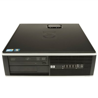 HP 8000 Elite SFF C2D - E8500 - 4GB - 120GB SSD - DVD-RW - Windows 10